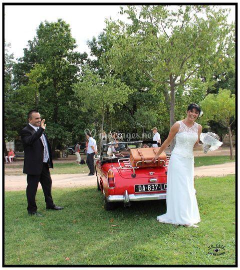 Quand la mariée fait sa valise