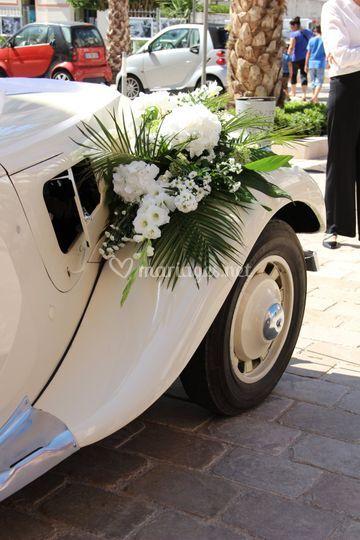 Bouquet sur Citroën
