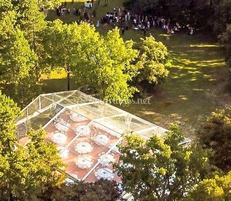 Rotonde Cristal dans le Parc 1
