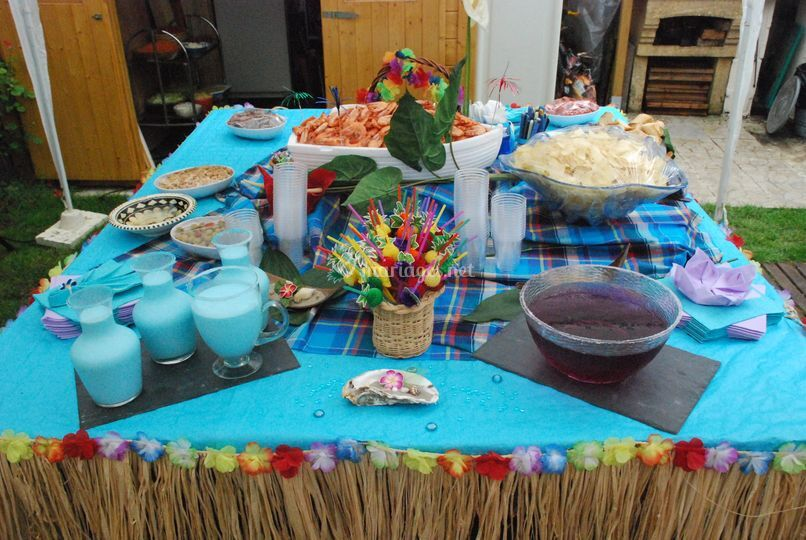 Table tropicale
