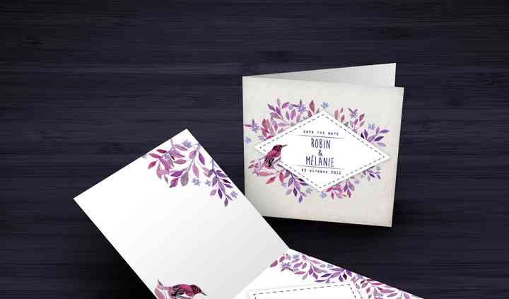 Exemple carton d'invitation