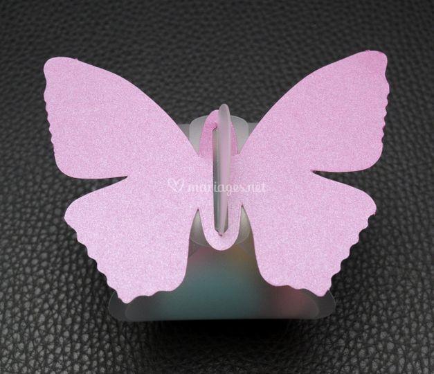Berlingot papillon garni de dragées