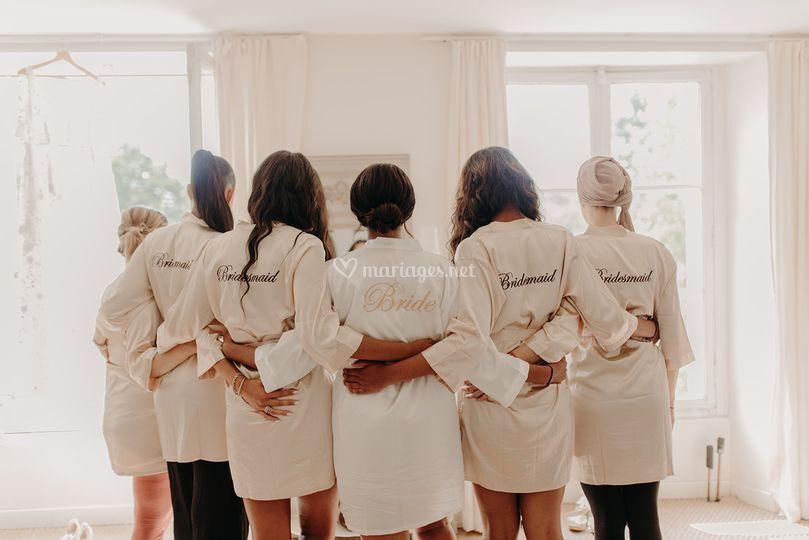 Mariée & demoiselles d'honneur
