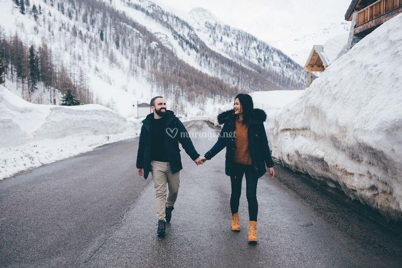 Engagement Coralie Florino