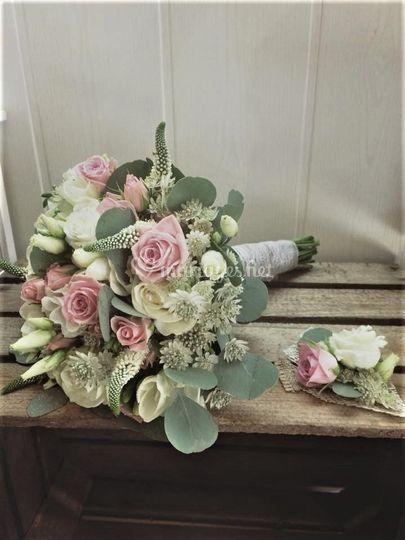 Bouquet au couleur tendre