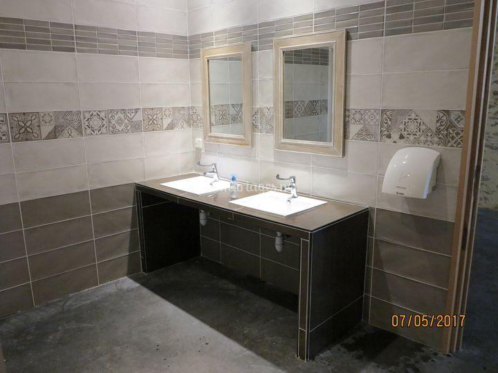Des toilettes très soignées !