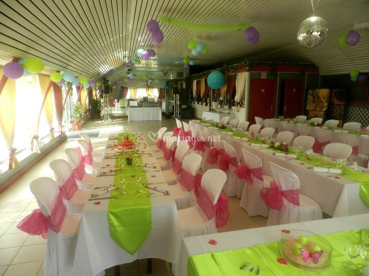 Mariage tables