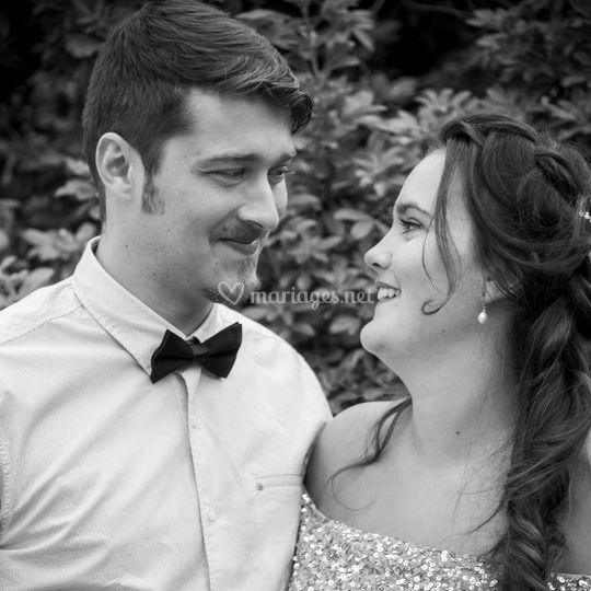 Couple noir et blanc