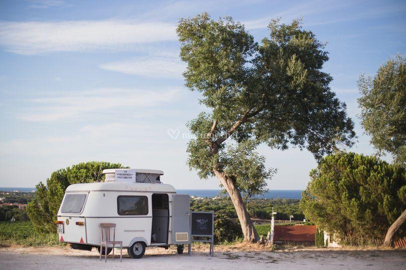 Wood Events - La Vagabonde - Caravane Photobooth