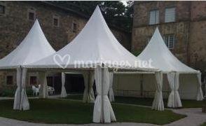 Tentes Pagode 5mx5m (2010)
