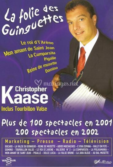 Orchestre Musette Christopher Kaase