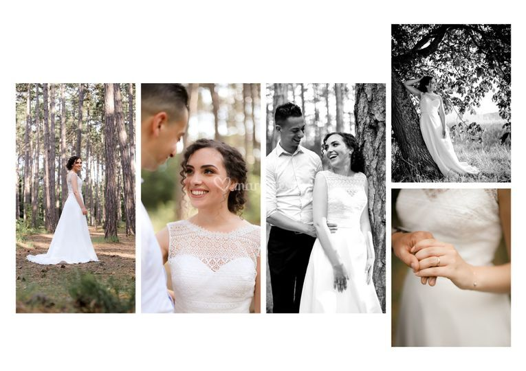Séance photo de mariage