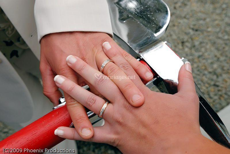 Détails des mains