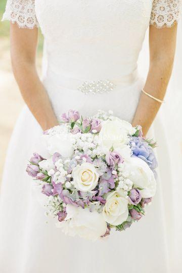 Bouquet mariée Morgane