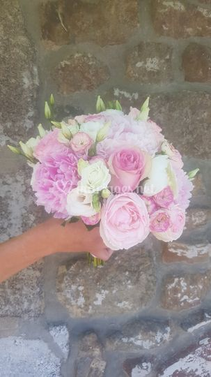 Bouquet rond Amel