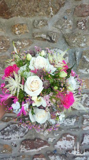 Bouquet rond Aurélie