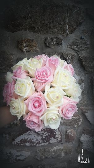 Bouquet rond Laura