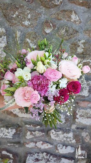 Bouquet rond Marianne