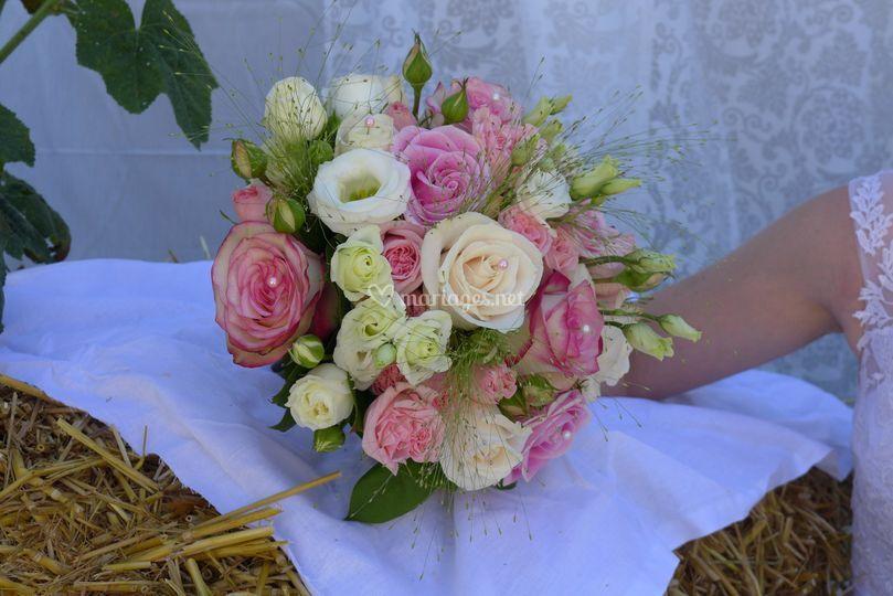 Bouquet rond nanou