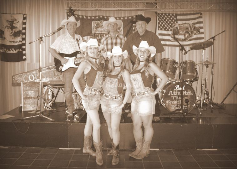 Concert, show danse country