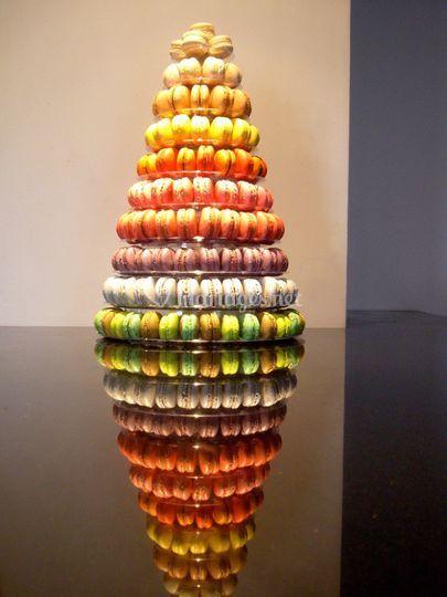 Pyramide 250 macarons