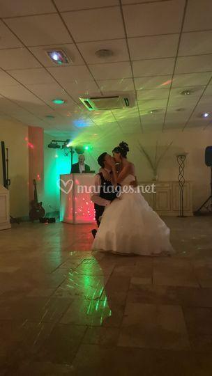 Bal ouverture des mariés