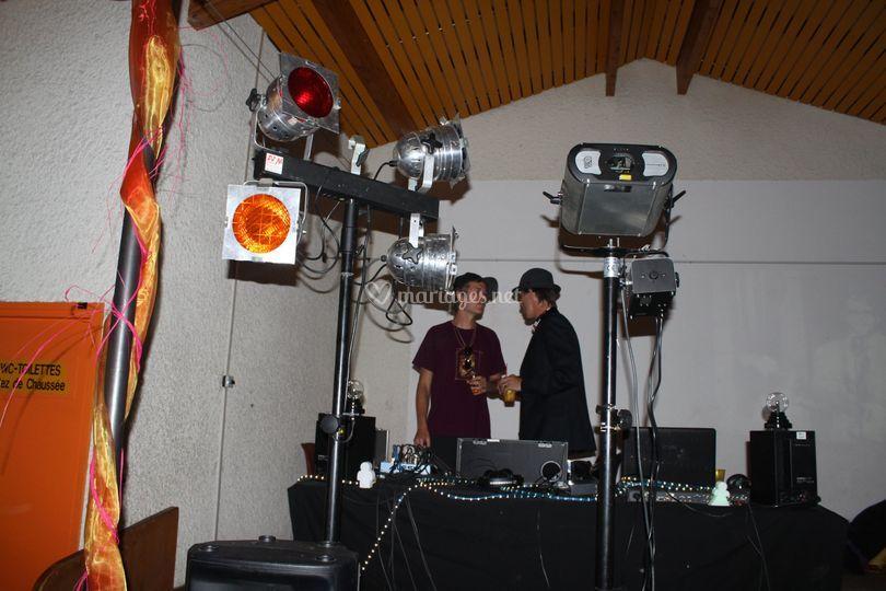 DJ sono + lights