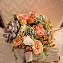 Bouquet mariée d'automne