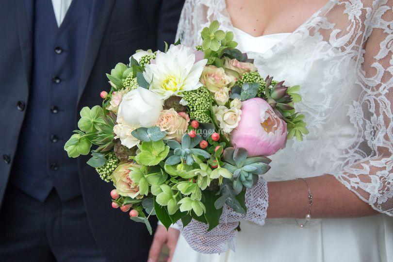 Bouquet mariée d'été