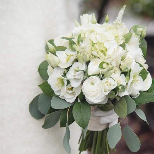 Bouquet mariée d'hiver