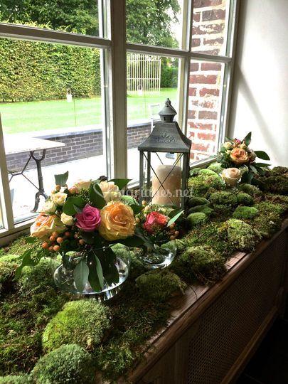 Décoration florale nature