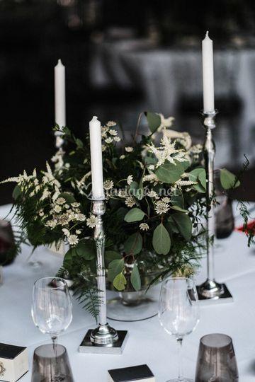 Centre bouquet Végétal