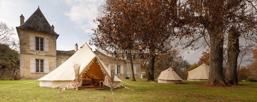 Camps hébergements