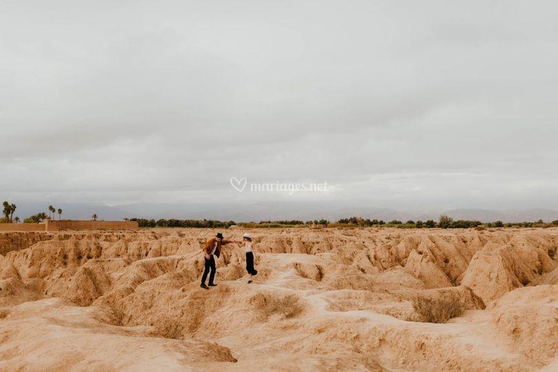 Séance couple au Maroc