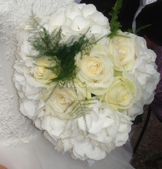 Bouquet de la mariée (Cécile)