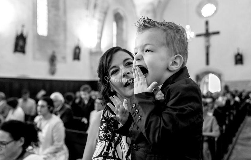 Rhô, maman et papa se marient