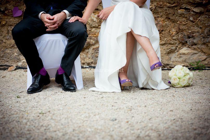 Vénézia teintée en violet