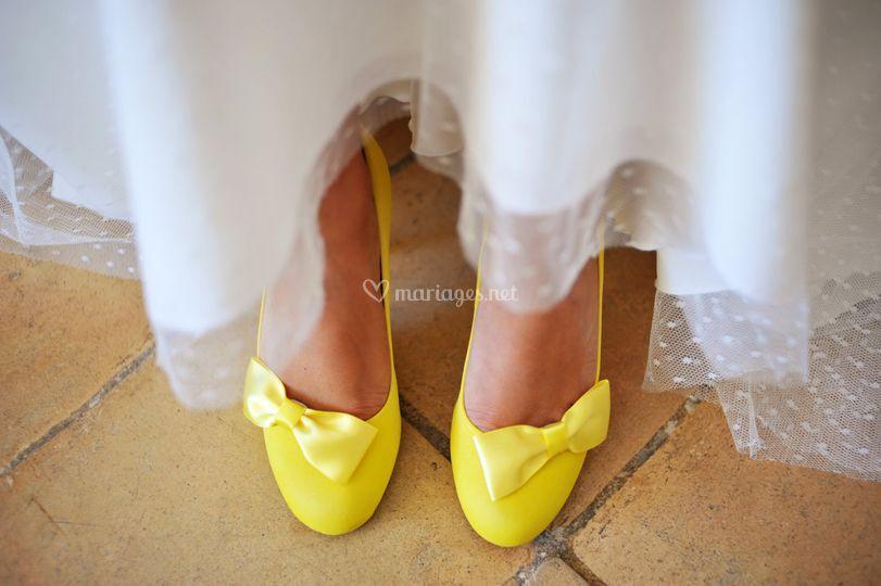 Haussmann teintée en jaune