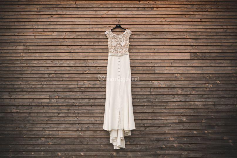 Préparatifs, la robe