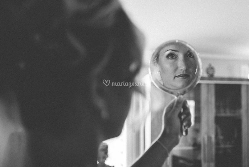 Préparatifs, le maquillage