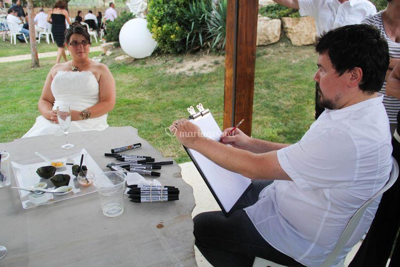 La mariée (sept 2014)