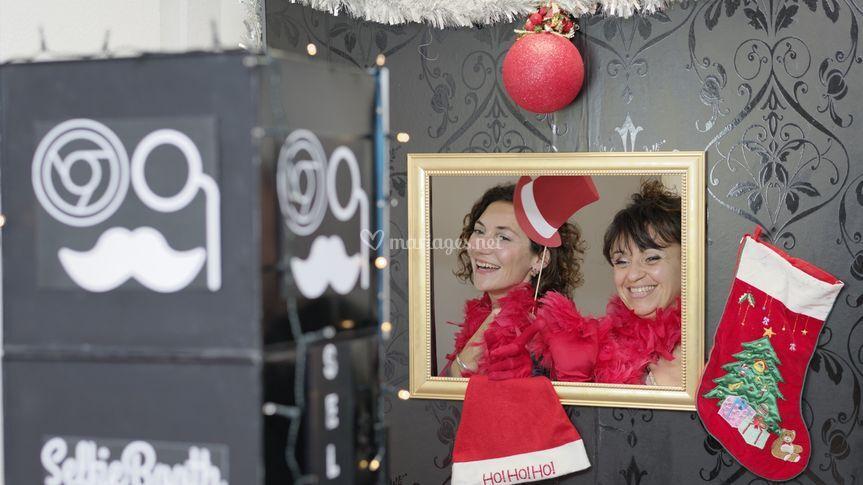 Selfiebooth au Marché de Noël