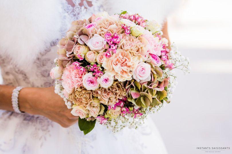 """Bouquet """"dentelle de fleures"""""""
