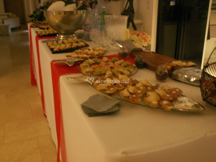Photo de buffet
