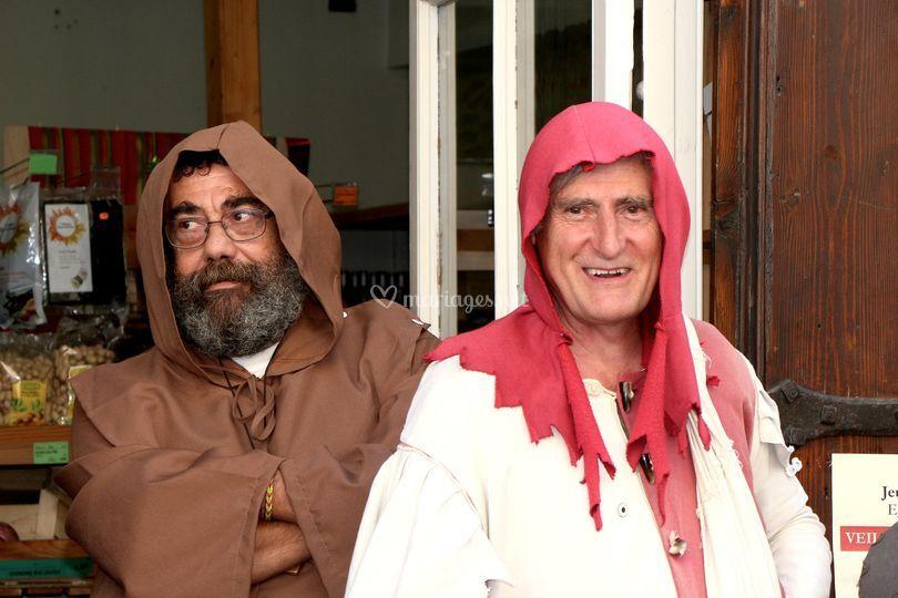 Avec le moine