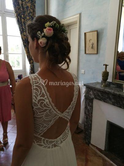 Coiffure mariée Castenaudary