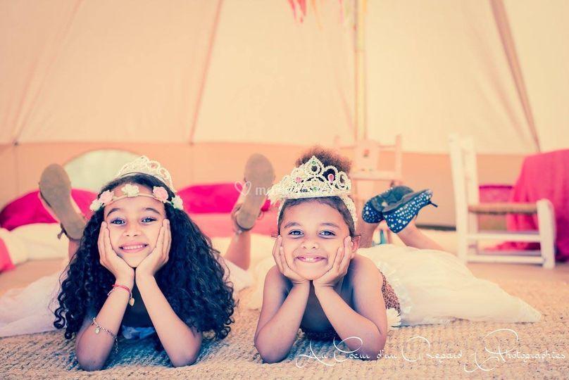 """Mon tipi """"Princesses"""""""