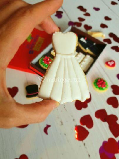 Sugarcookie robe de mariée