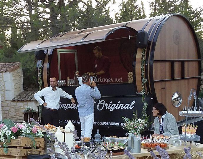 Le Coup de Foudre est un Wine Truck