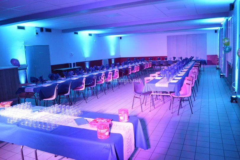 Décoration projecteurs LED